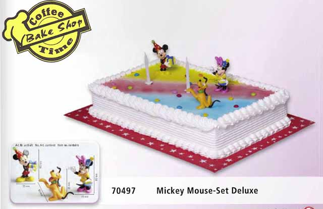 Mickey Mouse-Set Deluxe