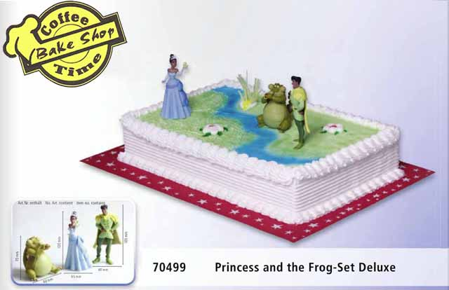 Princess and the frog- Set Deluxe